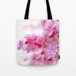 Cherry Blossom Tree So Pink Tote Bag