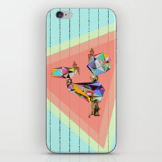 Behind every great man there are women to keep him balanced iPhone & iPod Skin