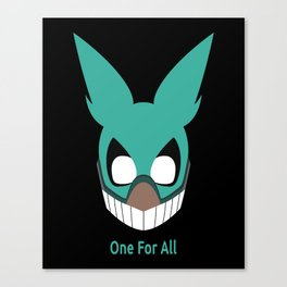 One For All Canvas Print