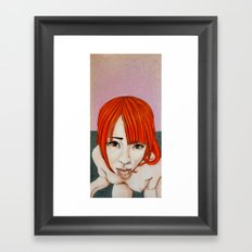 Never belong to you Framed Art Print