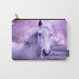 Lavender Horse Celestial Dreams Carry-All Pouch