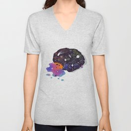 Cosmic Chip Cookie  Unisex V-Neck