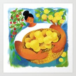 La Limonera Art Print