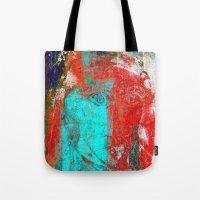 picasso Tote Bags featuring Picasso by Fernando Vieira