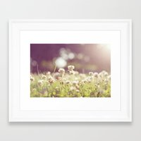 clover Framed Art Prints featuring Clover by laughlovephoto