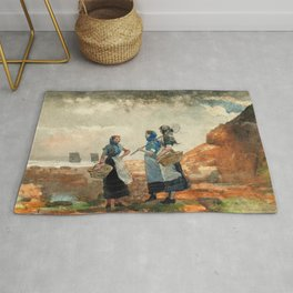 Three Fisher Girls, Tynemouth - Digital Remastered Edition Rug