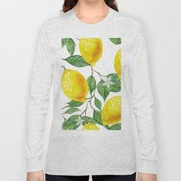 TROPICAL LEMON TREE Long Sleeve T-shirt