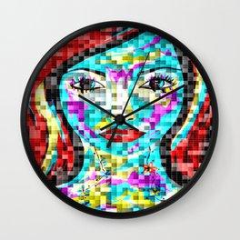 Mosaic Avani Wall Clock