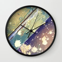 Texture 10. Lime Wall Clock