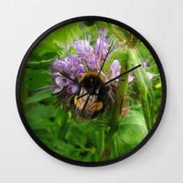 Bee Friends #2 Wall Clock