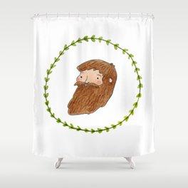 Bearded Bloke Shower Curtain