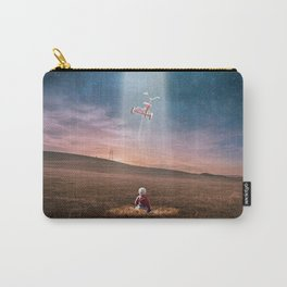 Child and UFO Carry-All Pouch