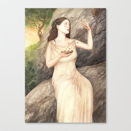 Melissa ~ A Compendium Of Witches Canvas Print
