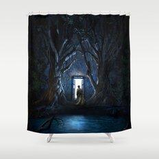 Doors Of Tardis Shower Curtain