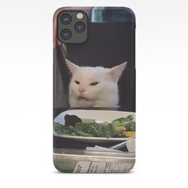 """(Cat Only) """"Woman Yelling At Cat"""" Meme iPhone Case"""