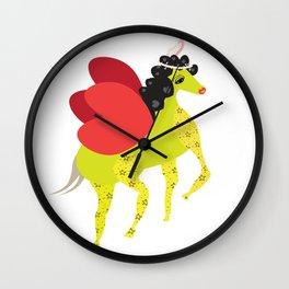 Pegasus Winged Unicorn for Adalia Wall Clock