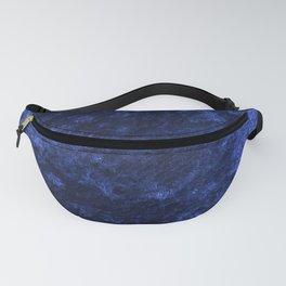 Royal blue navy velvet Fanny Pack