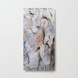Tree Bark rustic decor Metal Print