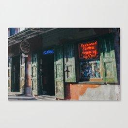 Voodoo Shop Canvas Print