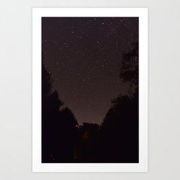 Starry Vista Art Print