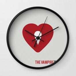 The Vampire Diaries - Minimalist Wall Clock