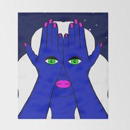 I've Got My Eyes On You Throw Blanket