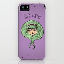 I'm A Person iPhone Case