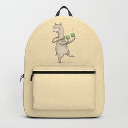 Alpaca on Maracas Backpack