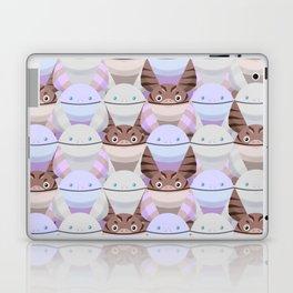Smiling Cat Laptop & iPad Skin