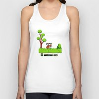 gameboy Tank Tops featuring Gameboy by Janismarika
