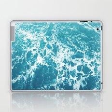Turquoise Waves Laptop & iPad Skin
