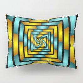 Colorful Tunnel 2 Digital Art Graphic Pillow Sham