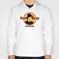 philadelphia Hoodies featuring Rocky - Philadelphia by Buby87
