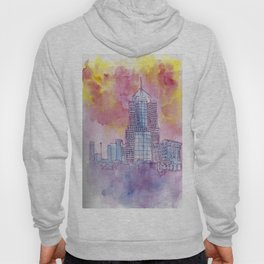 5th Avenue Place Sunset Hoody