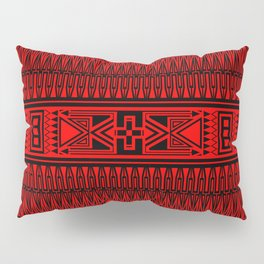 The Gathering (Red) Pillow Sham