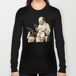 Putin spanking Erdogan Long Sleeve T-shirt