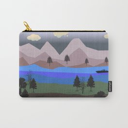 Mountain Landscape Carry-All Pouch