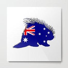 Australian Flag - Porcupine Metal Print