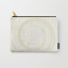 Re-Created Spin Painting No. 1 by Robert S. Lee Carry-All Pouch