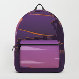Running sunrise Backpack