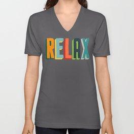 Relax Unisex V-Ausschnitt