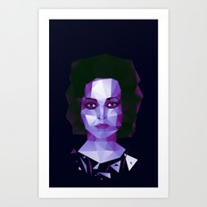 Fight club - Marla Art Print