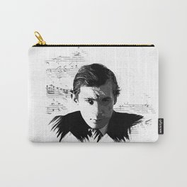 Glenn Gould - Canadian Pianist, Composer Carry-All Pouch