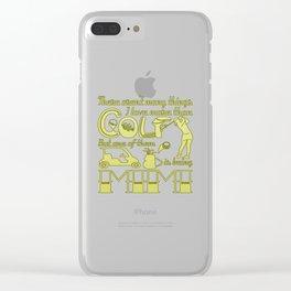 Golf Mimi Clear iPhone Case