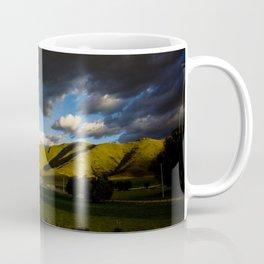 Rainbow Over Rolling Hills Coffee Mug