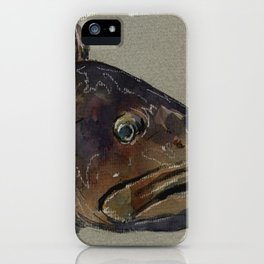 Great grouper fish iPhone Case