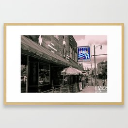Rum Boogie Cafe Framed Art Print