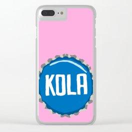 Kola bottle cap lefty Clear iPhone Case