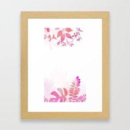 Natural Flowers Framed Art Print