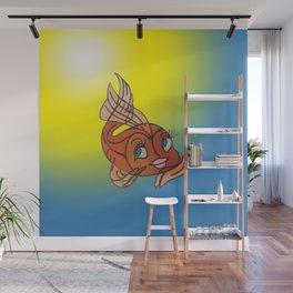 Goldie Wall Mural